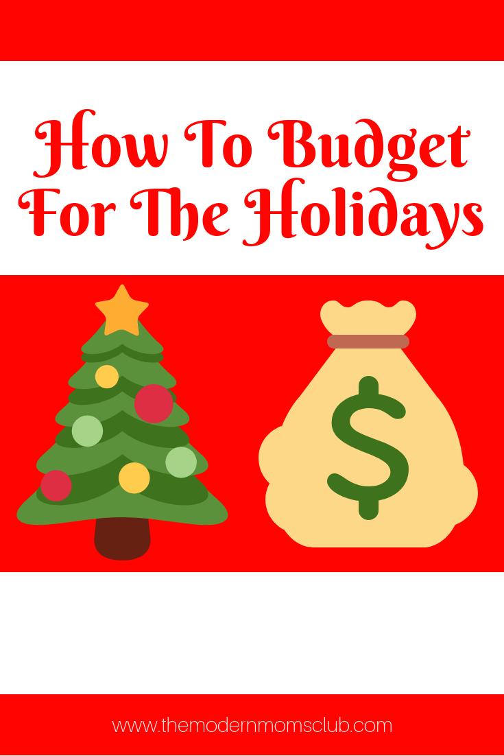 How to budget for christmas #christmasbudgeting #bugetfortheholidays #budgeting
