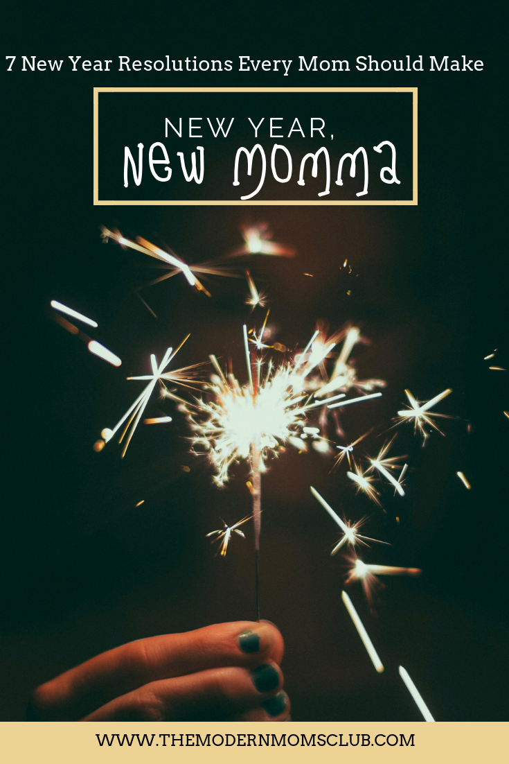 New year resolutions every mom should make #newyear #happynewyear #newyearresolution