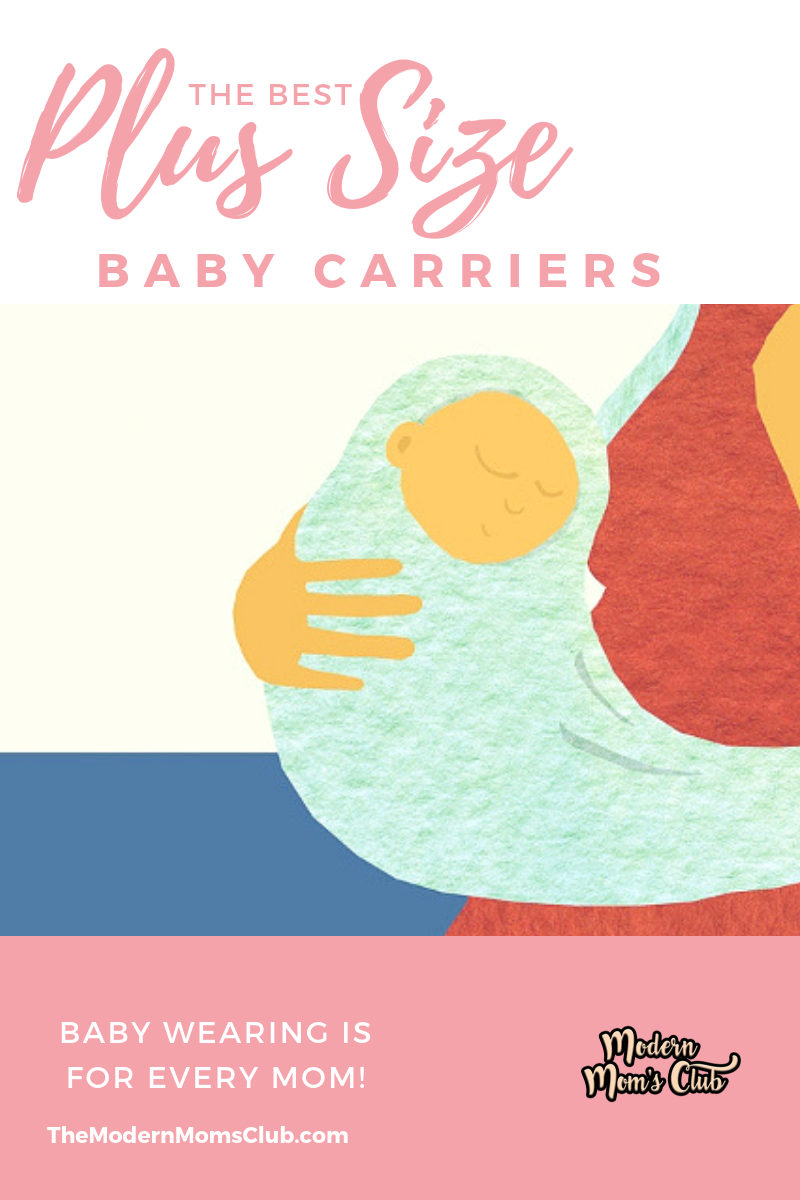 Best baby carriers for plus size moms! #plussize #plussizemom #babywearing
