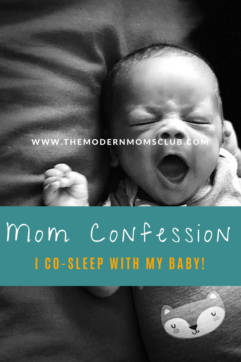 Cosleeping with a newborn #cosleep #baby #infantcare