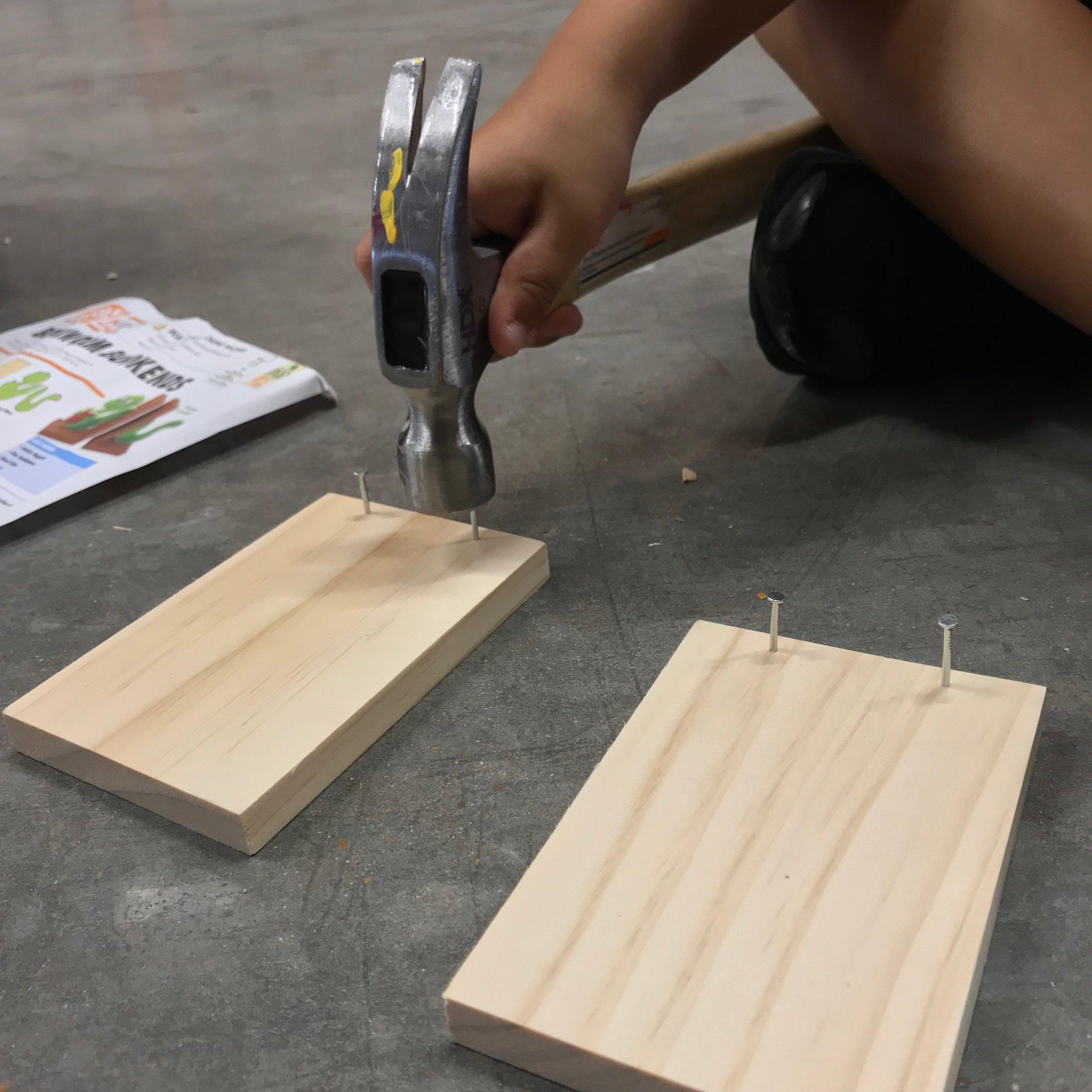 Home Depot DIY Kids Class