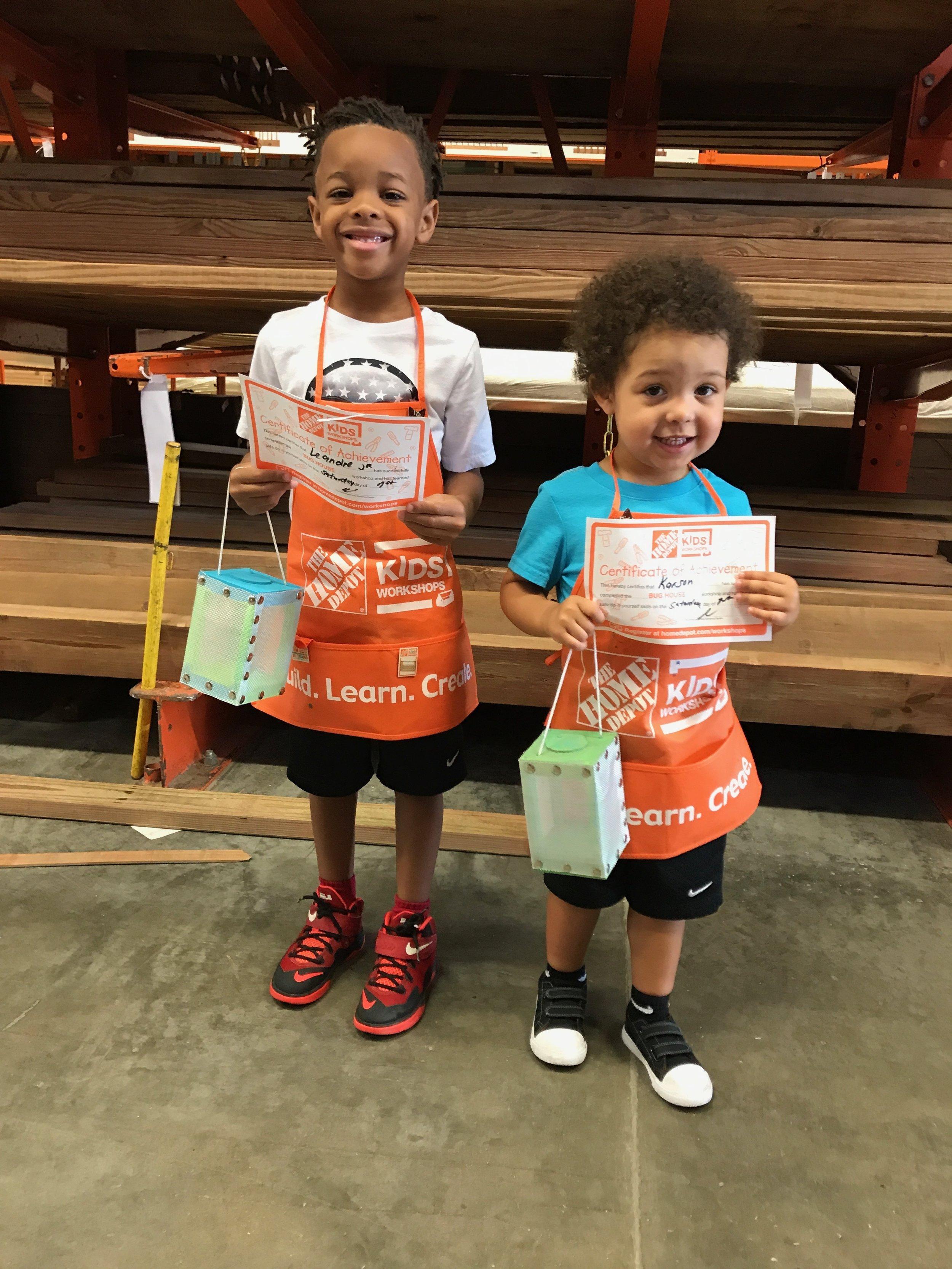 Home Depot Kids Diy Class
