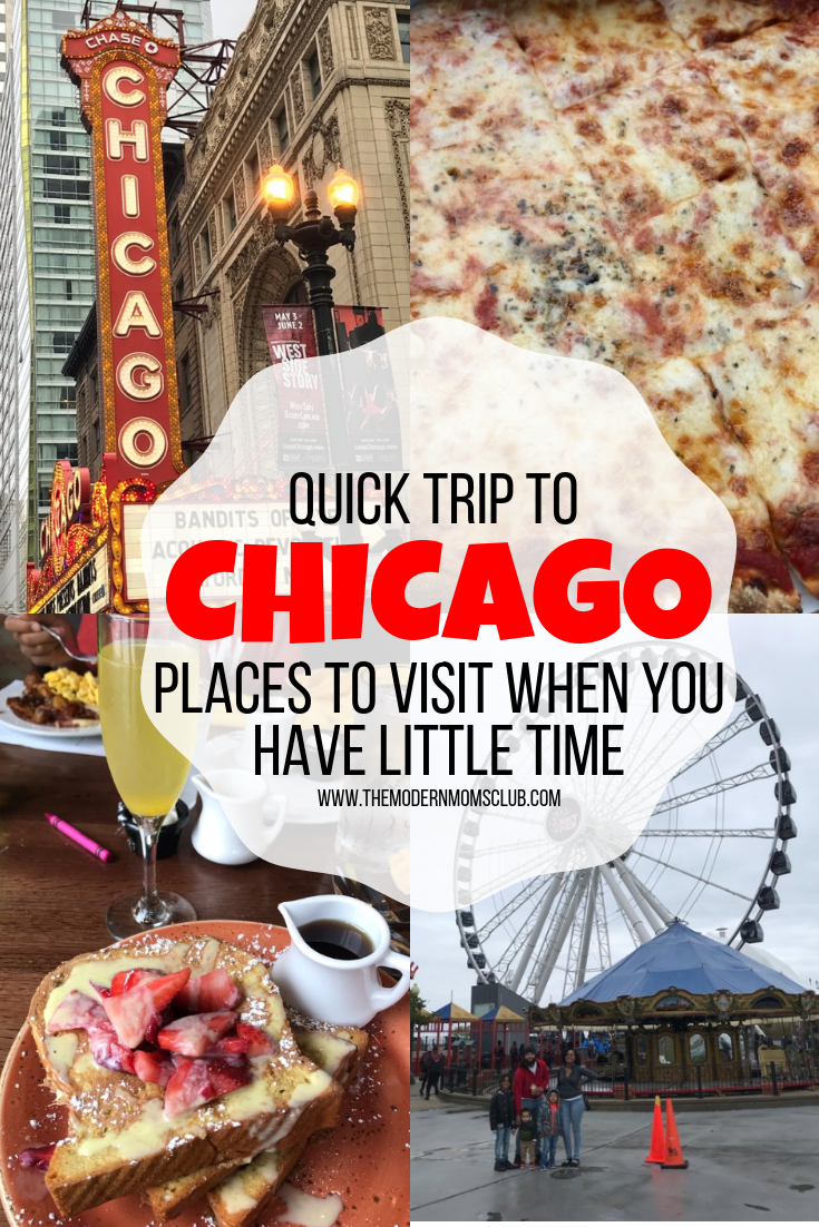 Quick Trip To Chicago; Places To Visit When You Have Little Time #chicago #traveling #whattodoinchicago