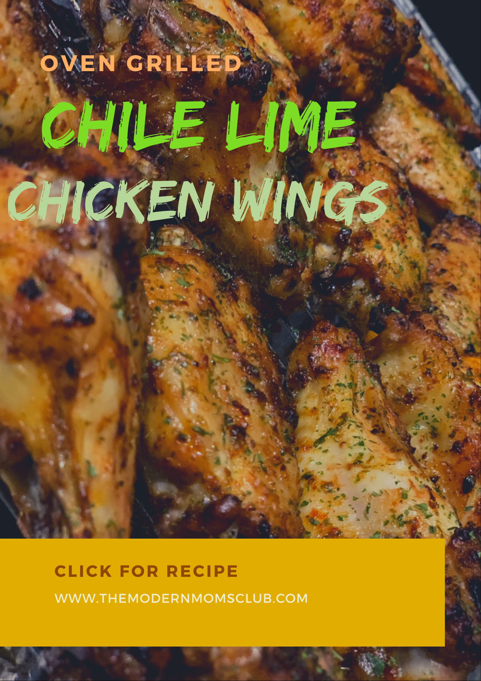 Oven grilled Chile like chicken wings #chickenwings #food #partysnacks #chilelimechicken