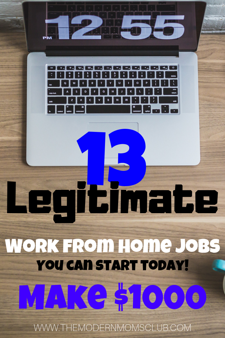Are you looking for work from home jobs? Here is a list of legit jobs hiring for work at home. Start working from home today! #workfromhome #wah #stayathomemom #jobs