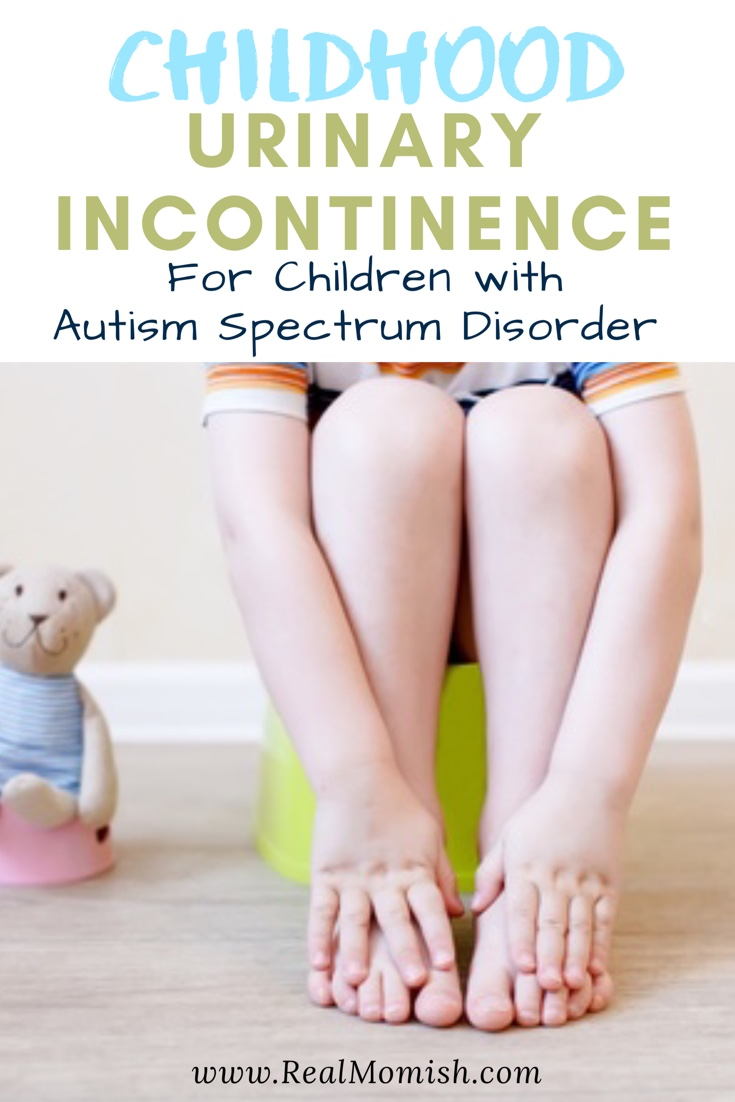 Learn how to cope and overcome incontinence in children. Autism spectrum disorder #incontinence #children #pottytrain #specialneeds #autism #incontinence