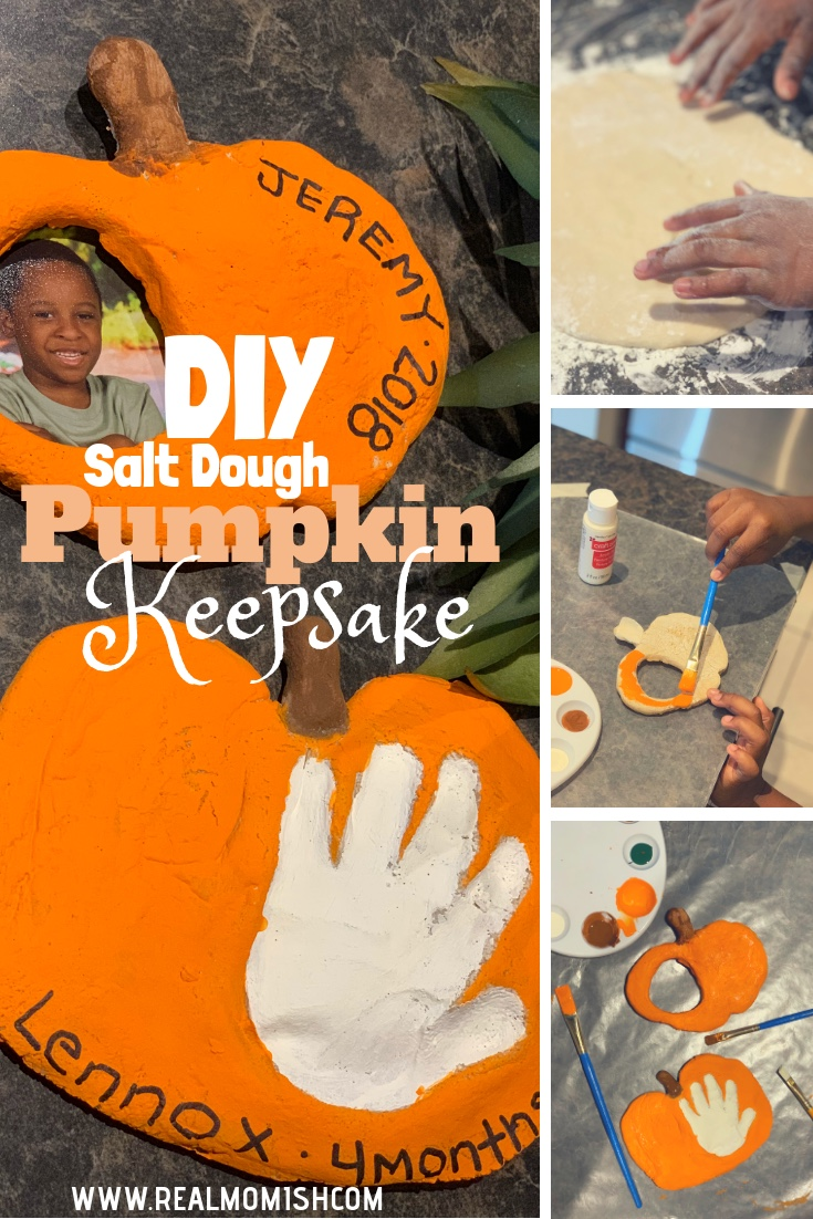 DIY Pumpkin keepsakes #saltdough #saltdoughpumpkin #keepsake #halloweendiy #halloweencrafts #halloweenkeepsake