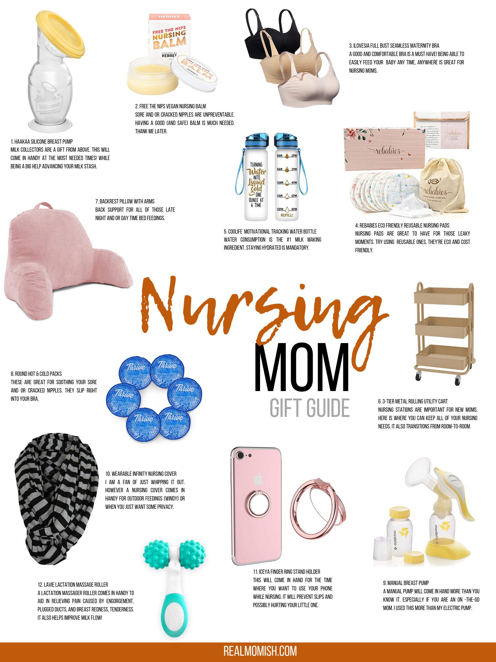 Nursing Mom Gift Guide