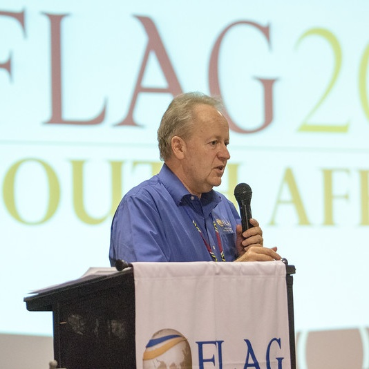 Bob Trierweiler speaking at our FLAG 2016 global convocation in South Africa
