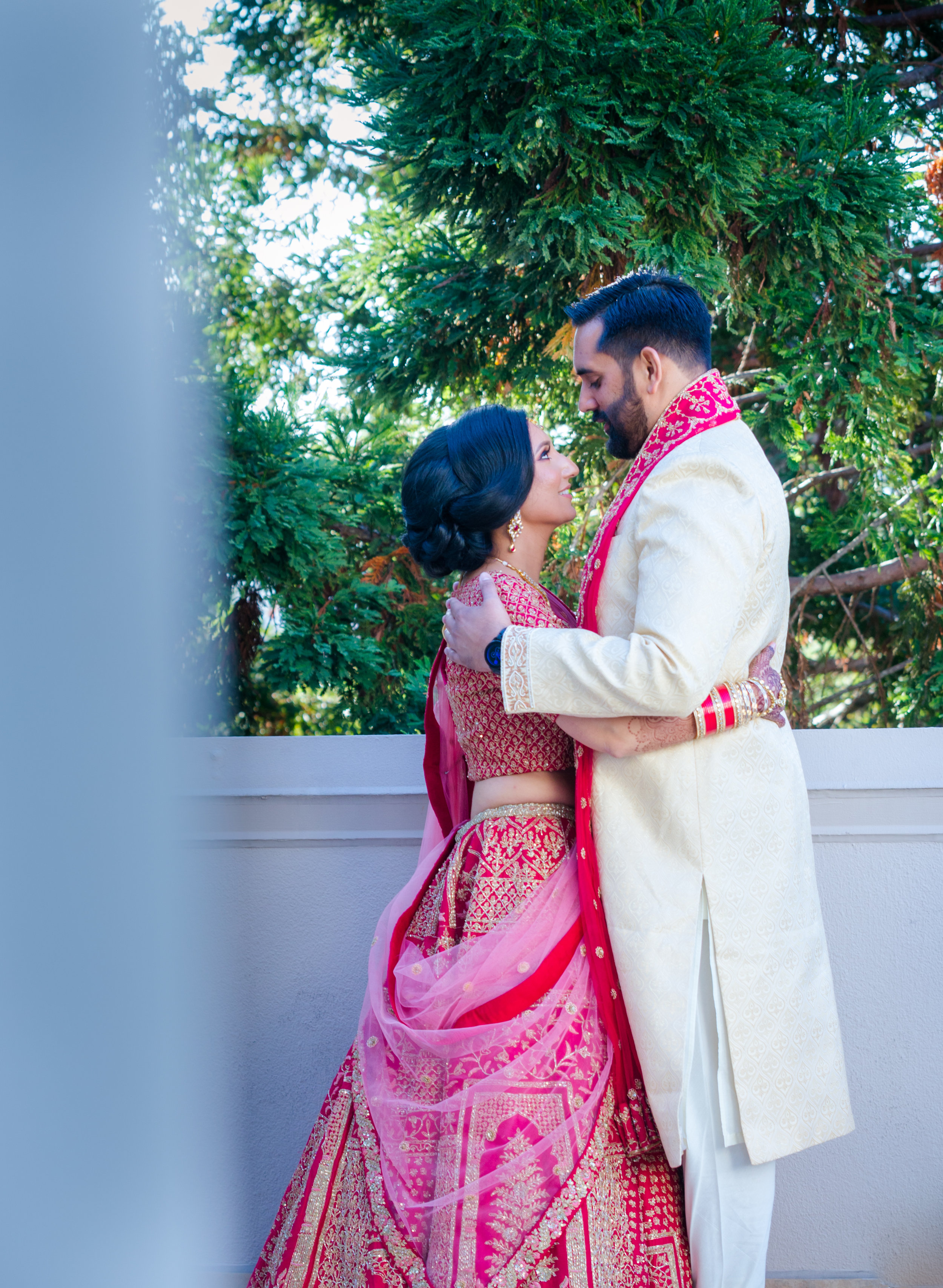 "Monika & Vishal - ""We were fortunate to have Minoti and her team as our Planner and Coordinator to execute a memorable weekend. She was clear in her communication and was quick in responding to any questions we had. Thank you so much for being a part of our happily ever after!! We would highly recommend Vermilion Weddings and Events!"""