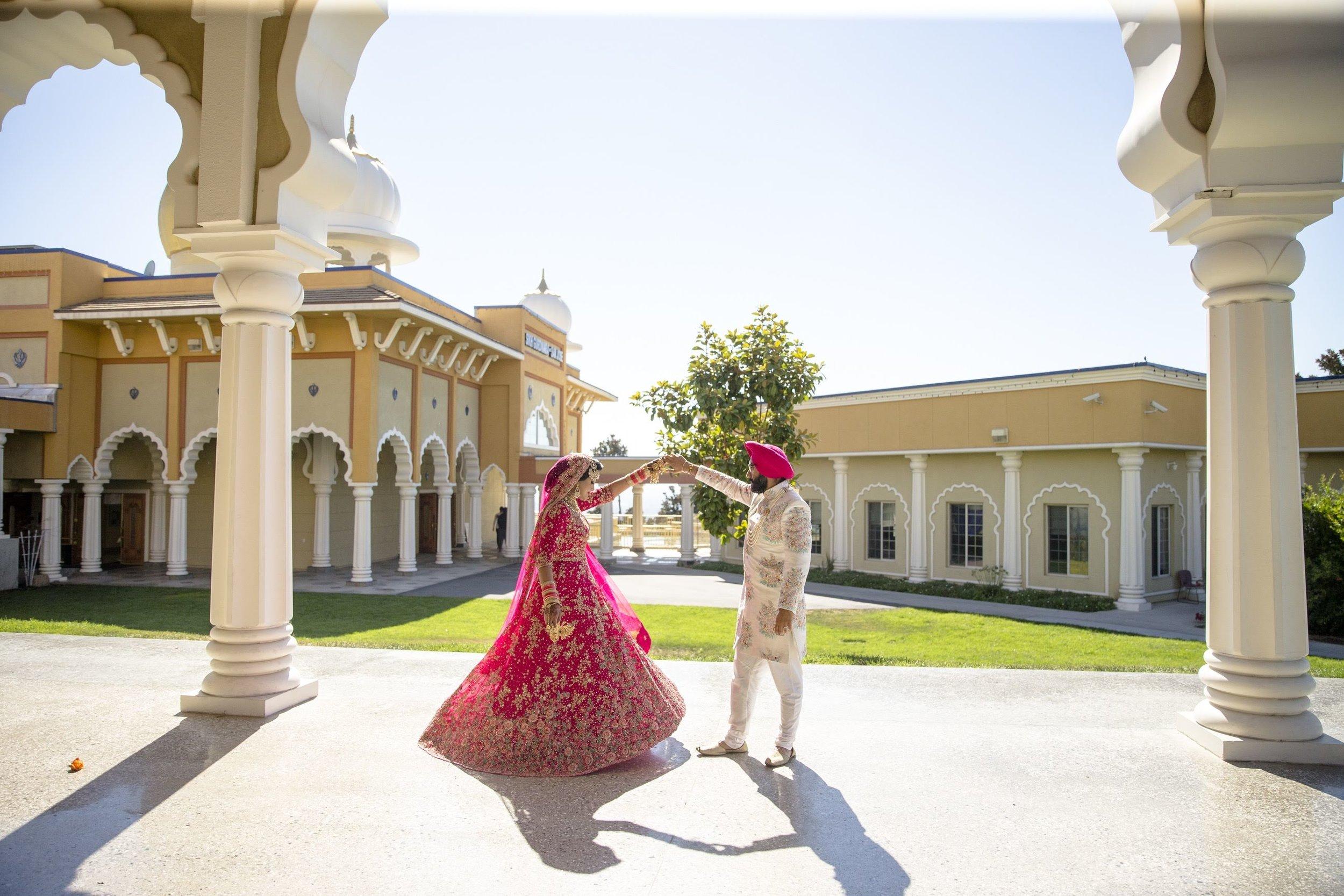 Vermilion Weddings & Events: San Francisco Bay Area Wedding Planner, Sonam & Harman