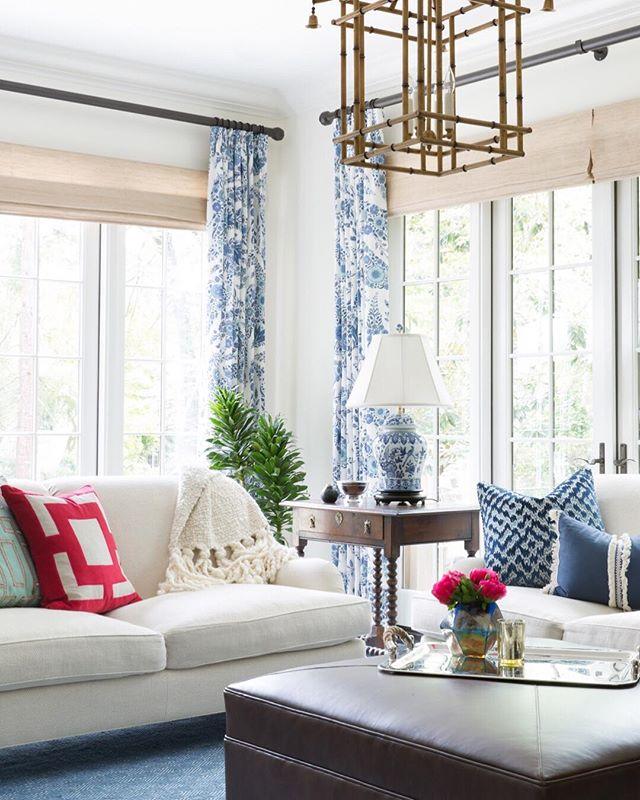 Reminiscing of my client's fresh and beautiful living room. Such a delightful project to curate!  #interiors #ggathome #smmakelifebeautiful #thatsdarling #flashesofdelight #interiordesign #pursuepretty #luxurydesign #california #homeinspo #home #finditstyleit #theeverygirl #lcdotcomloves #smploves #liveauthentic #mysf #interiorinspo #apartmenttherapy #showemyourstyled #abmathome #myoklstyle #sodomino #betterhomesandgardens #handmademodernhome #sanfranciscodesigner @lacefielddesigns_ @antheminteriors @raoultextiles @lisabakamis @schumacher1889 @thisismcguire @leathercraftfurniture @kravetinc @blissstudiofurnishings @starkcarpet @benjaminmoore @arteriorshome @anthropologie @millingroad