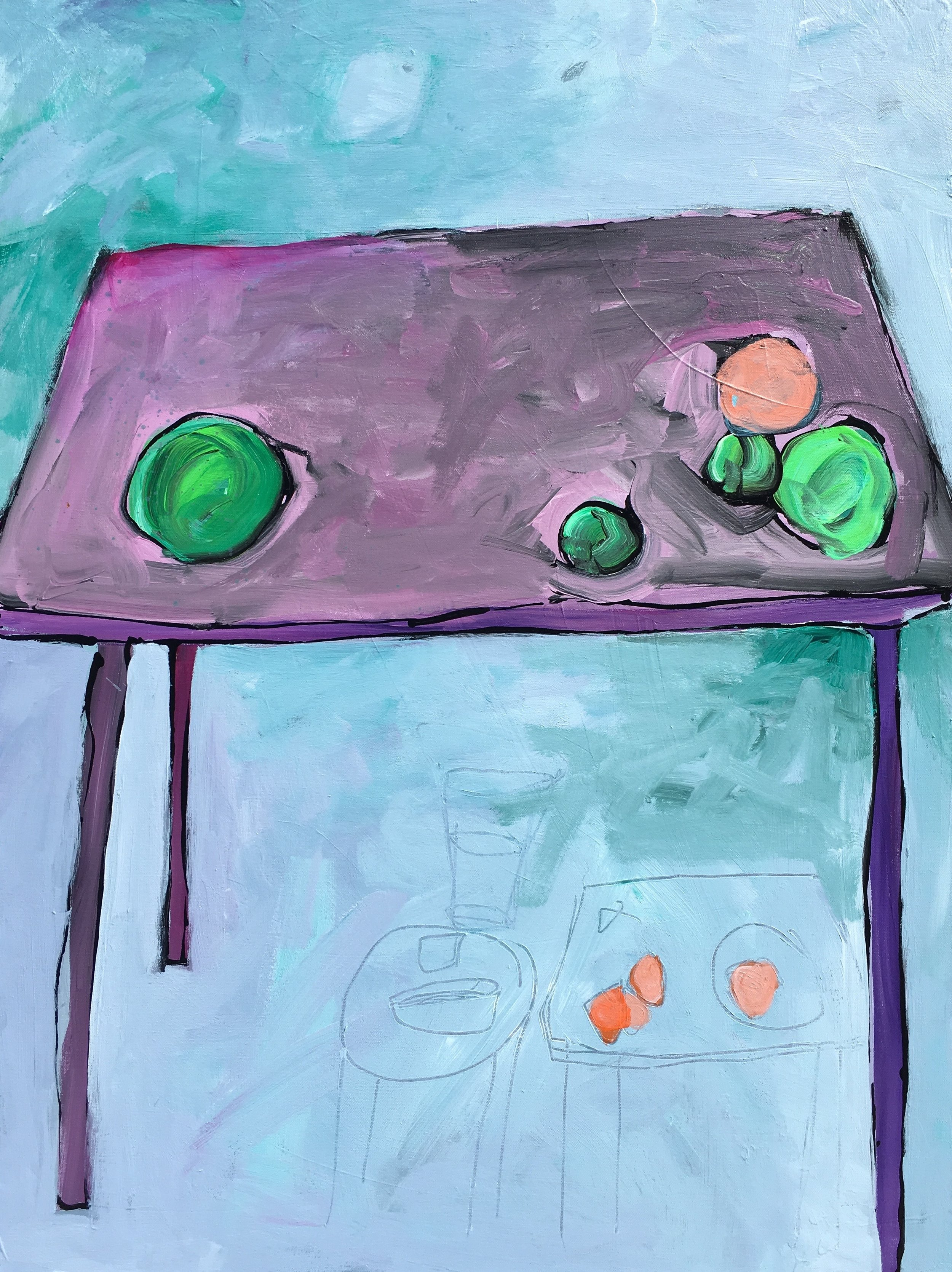 Table with Fruit