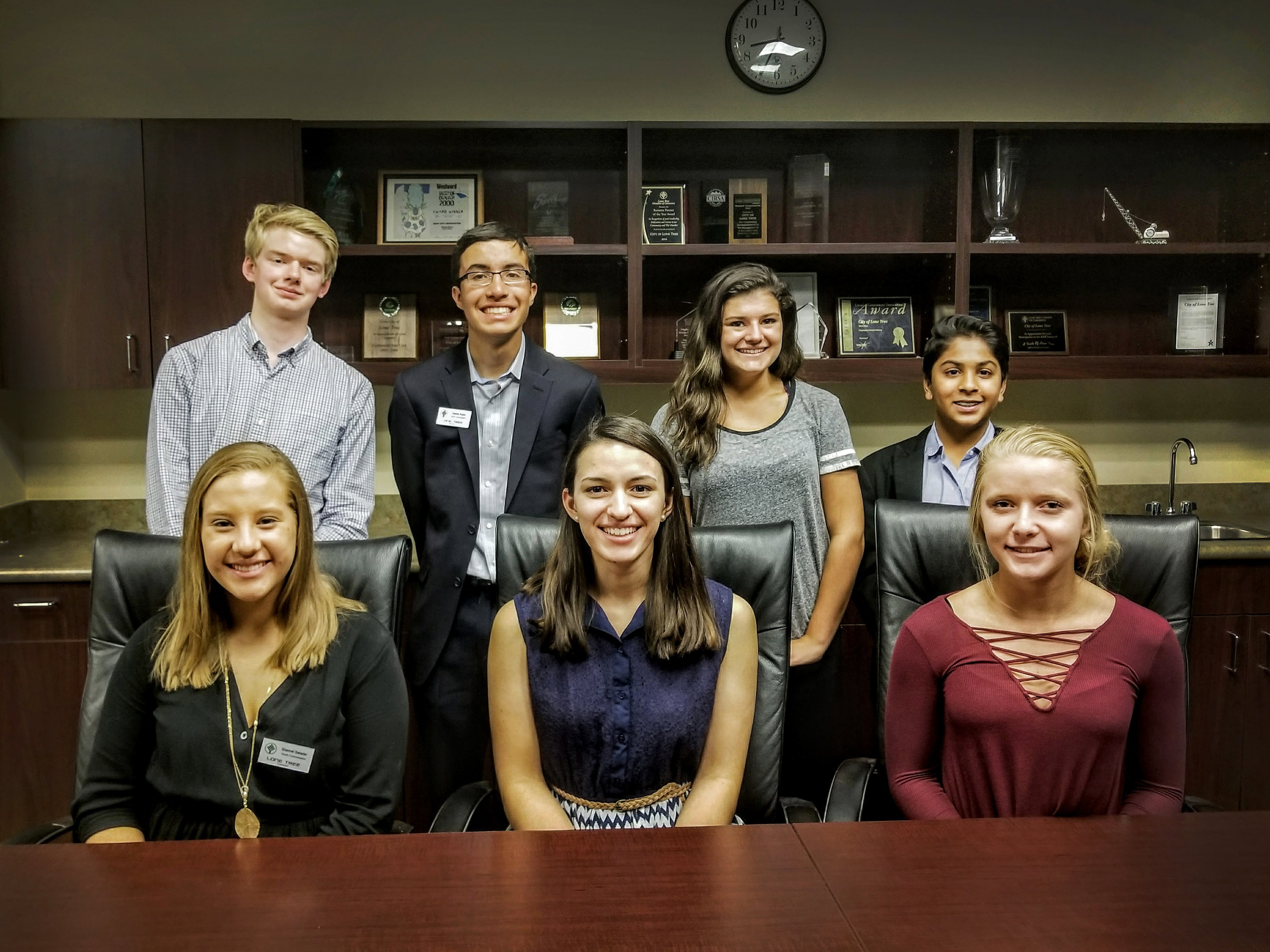 The 2017-18 Lone Tree Youth Commission