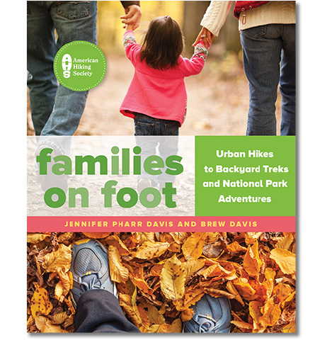 Families on Foot Book - Hiking with twins photos published