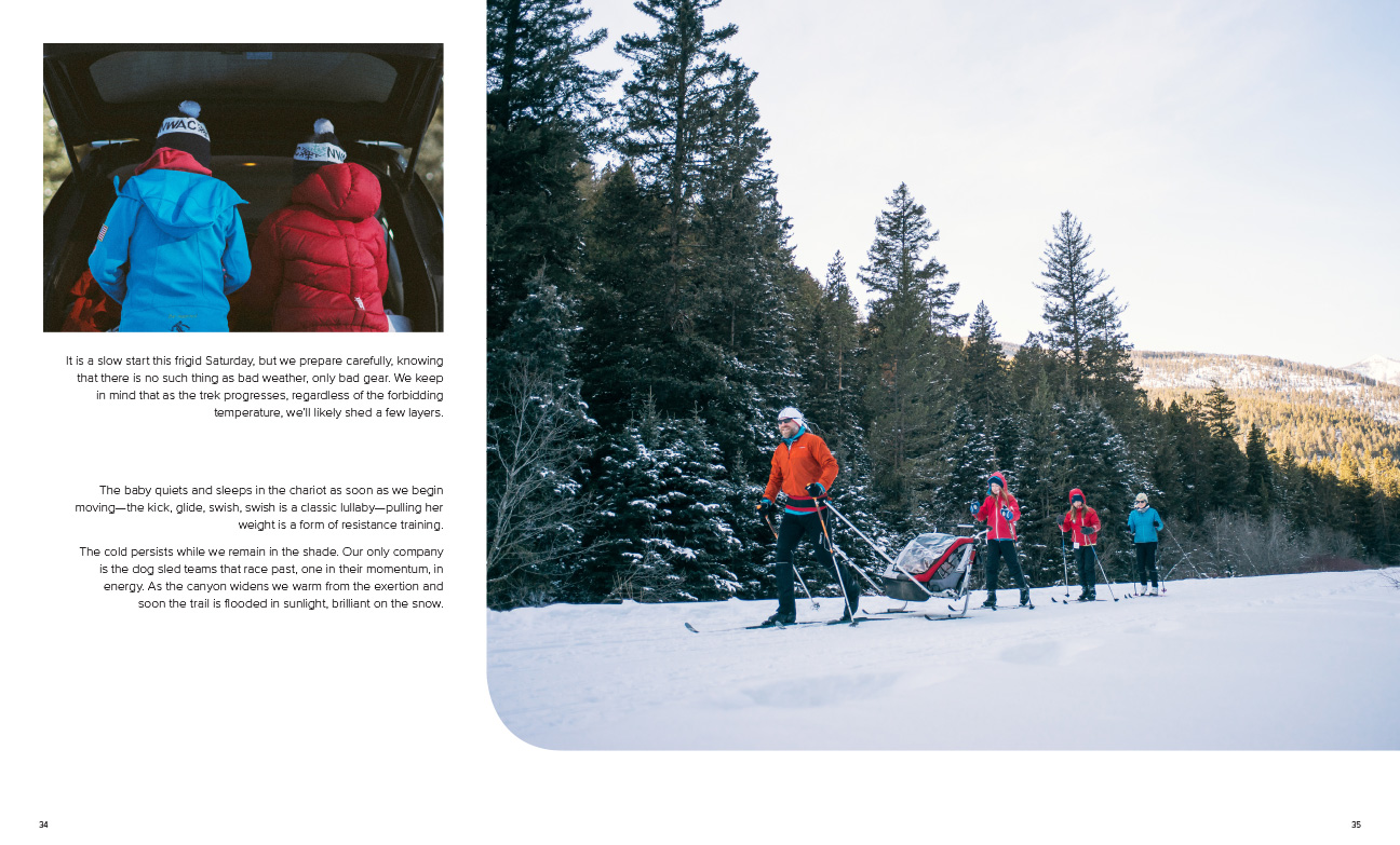 Park & Life Magazine - Nordic skiing article