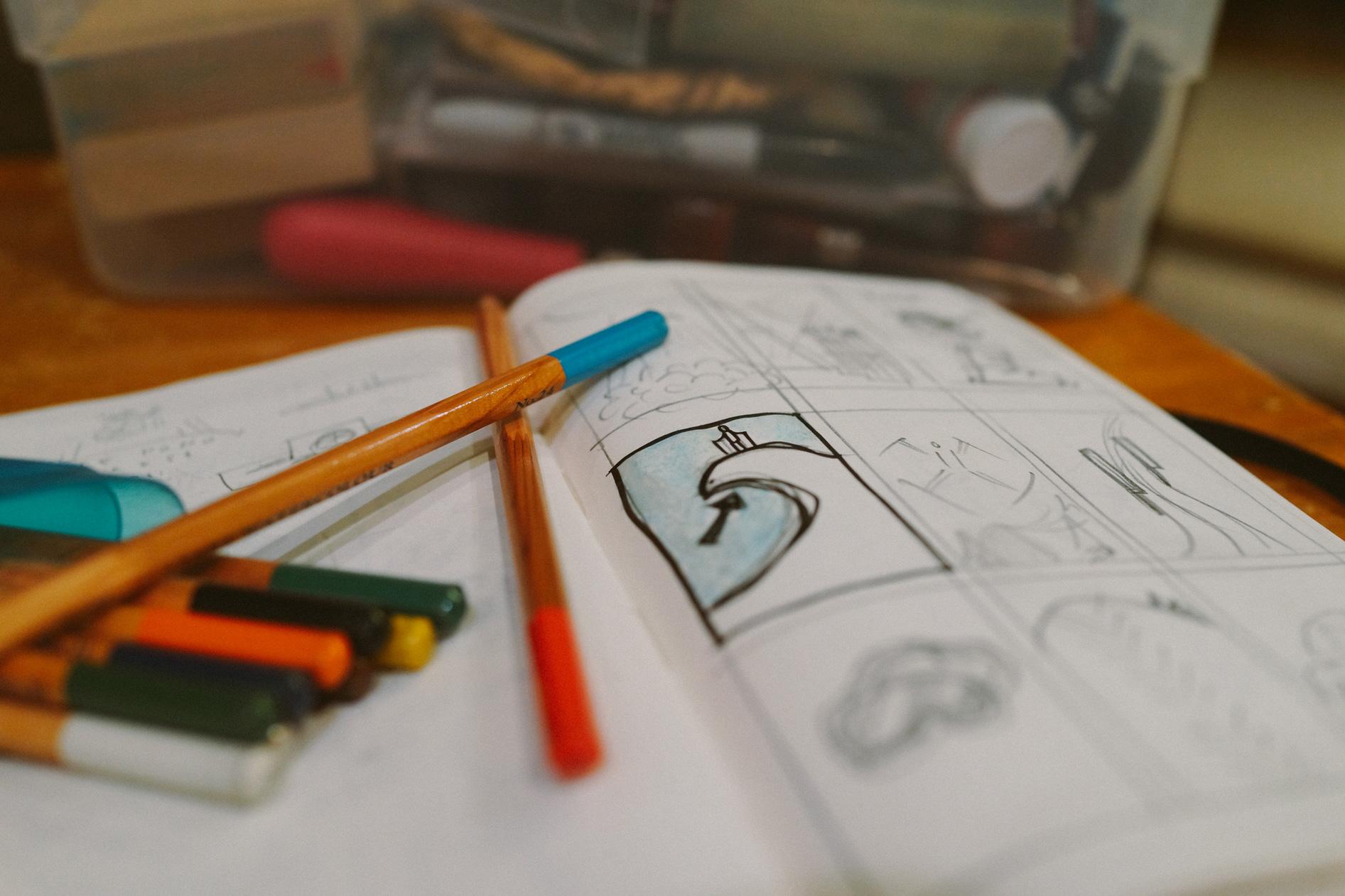 Seth sketchbook