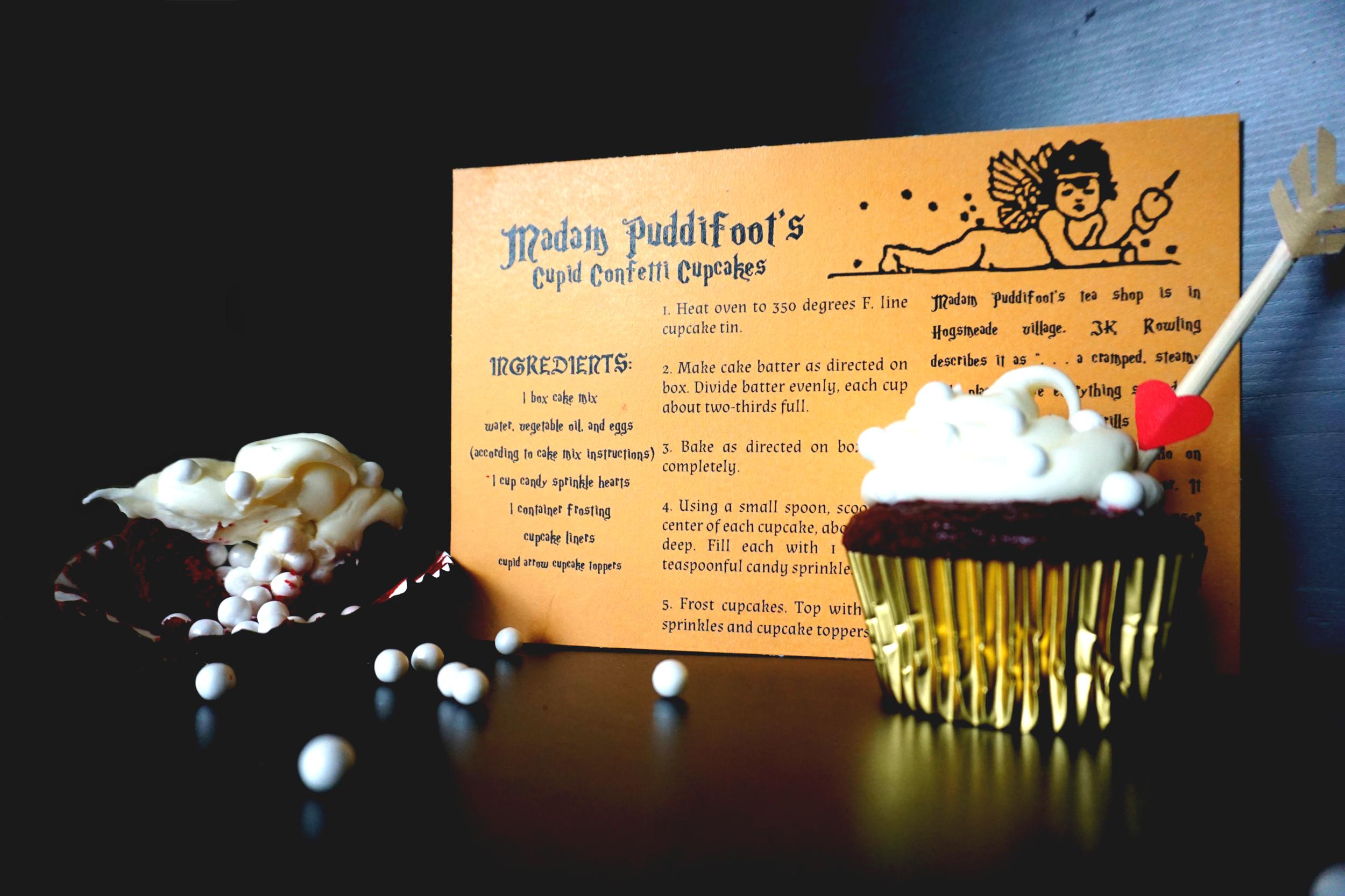 Madam Puddifoot's Cupid Cupcakes