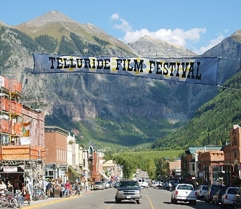 PHOTO CREDIT:  Telluride Film Festival In Colorado  |  BY  filmbuff421  |  licensed under the  Creative Commons   Attribution 2.0 Generic  | Altered from the original