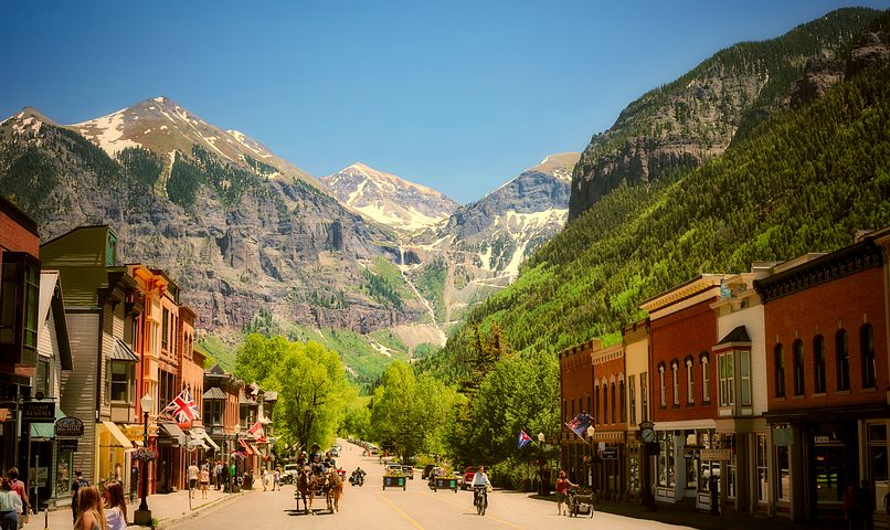 The Telluride Film Festival takes place in the old west ski town of Telluride, Colorado each fall. It is loved by patrons and celebrities alike for its small town charm and high caliber filmmaking.