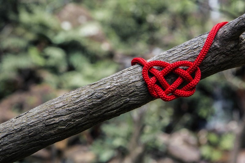 On this mini-date, you and your date are going to tie the knot. Not  THE  Knot. This knot. The Celtic Love Knot. Oh brother…