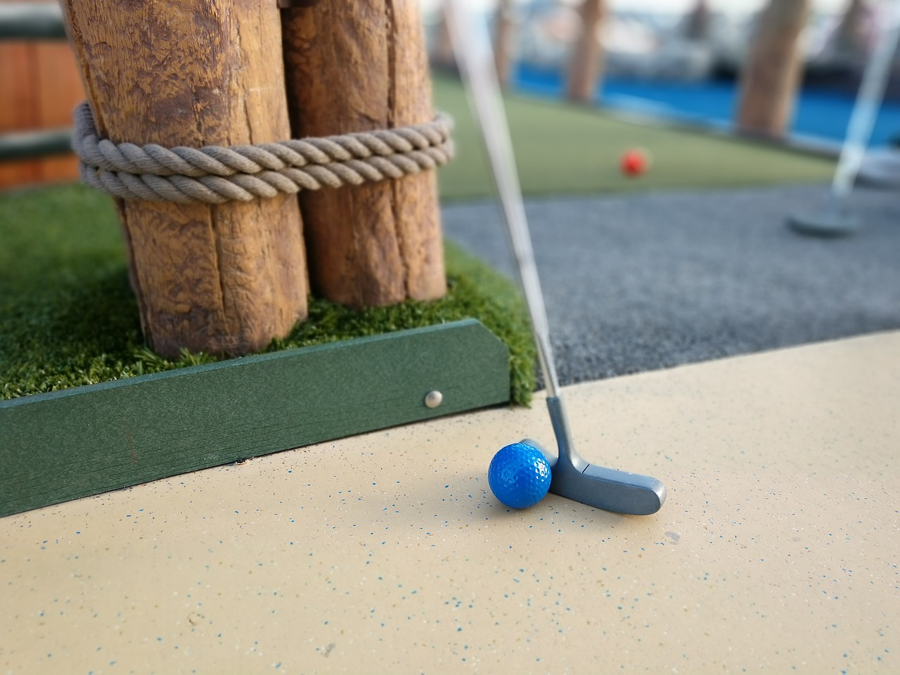 Mini Golf can be fun and goofy while also giving you the chance to get to know each other better.