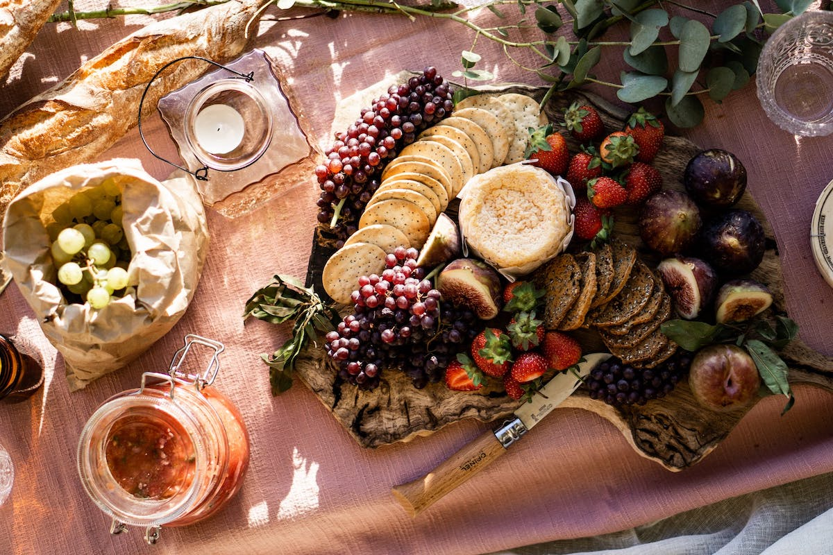 A summer picnic can be as elaborate or as simple as you choose.