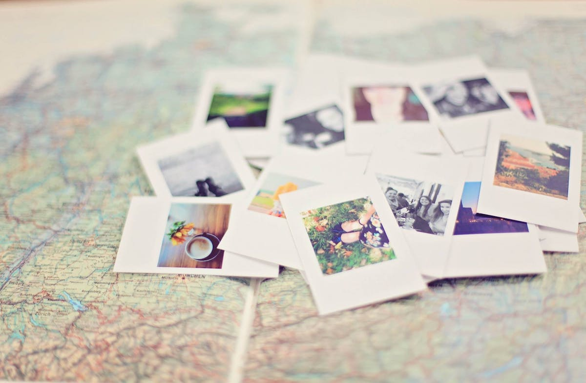 Relive old memories with past photos.