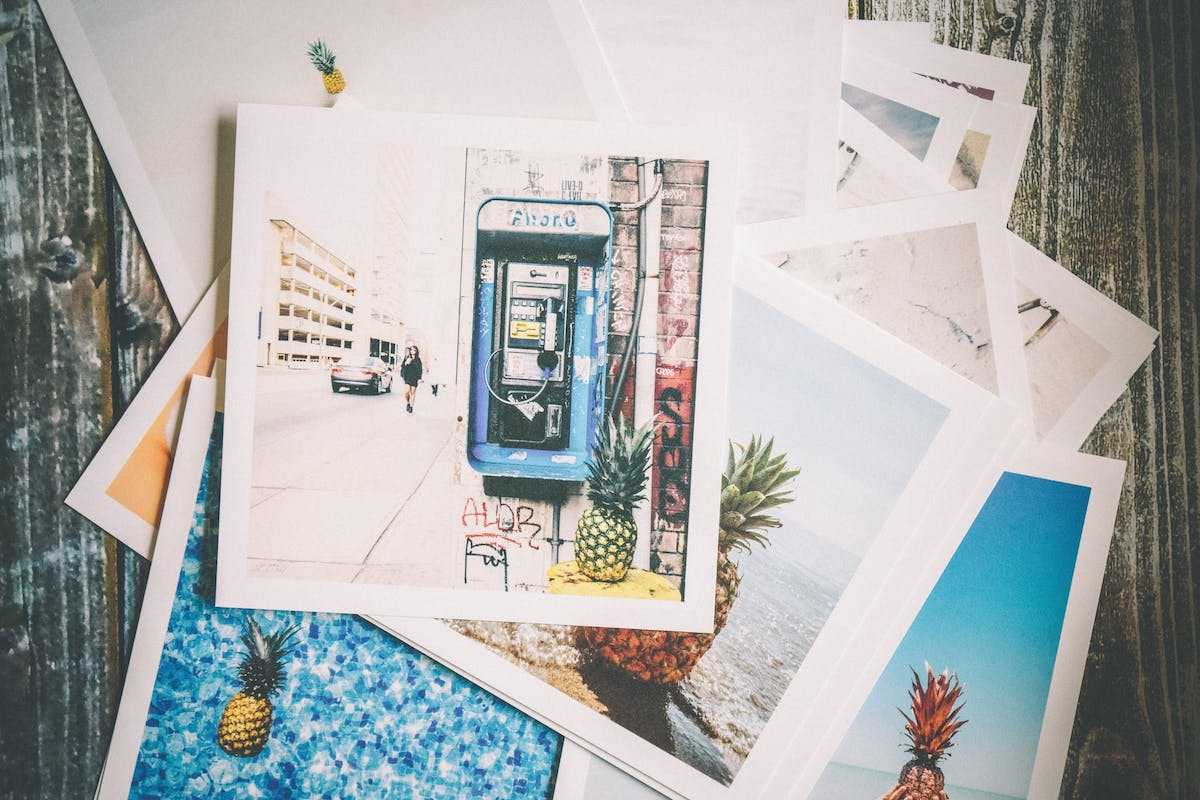 Take a few minutes to actually look through some of the thousands of photos you have taken.