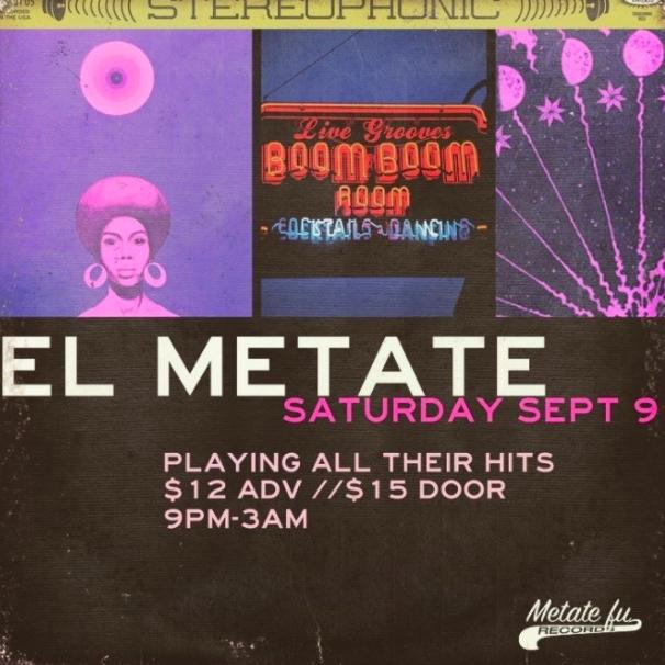 El Metate at Boom Boom Room