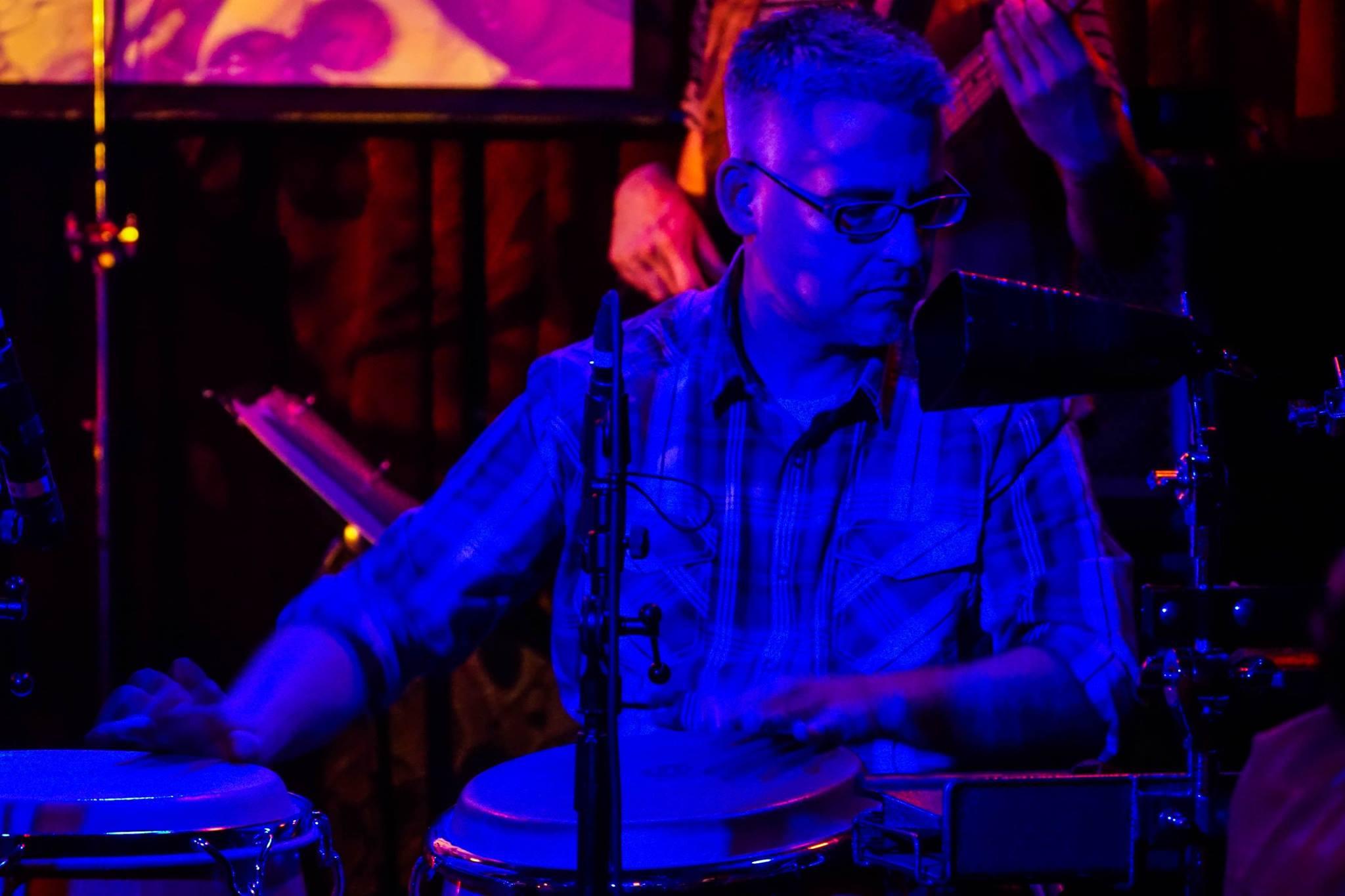 El Metate at Boom Boom Room - Franco Gonzalez - Percussion/Congas