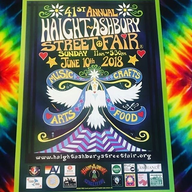 We love playing outside. Catch us this Sunday at the Haight Ashbury Street Fair. 11am on the main stage.