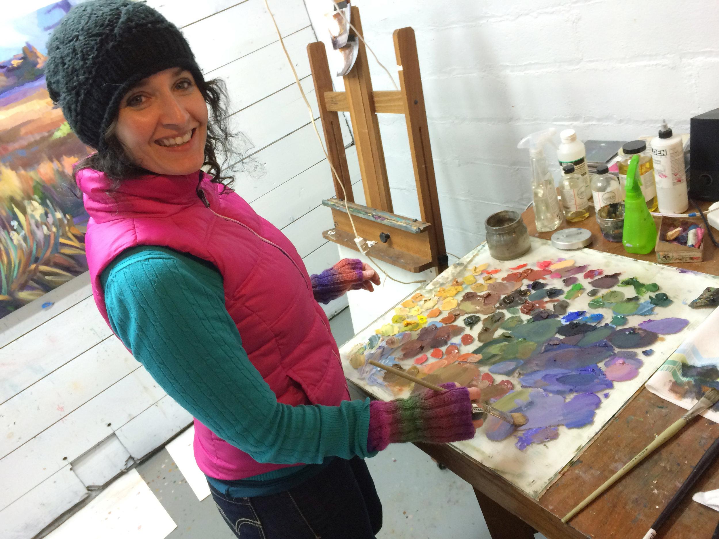 Laura in Studio.JPG