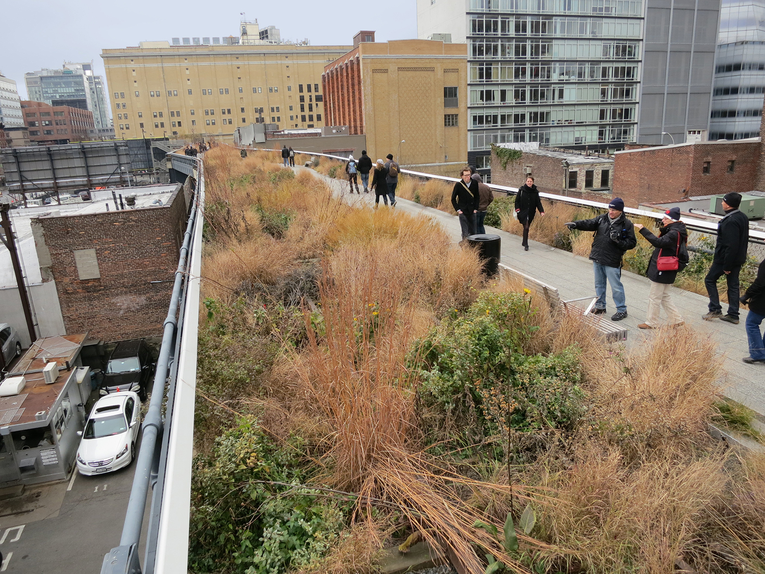 Elevated linear park, The High Line