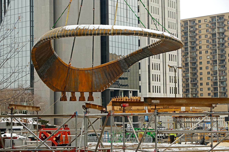 Installation of Nimbus by Tristan Al-Haddad
