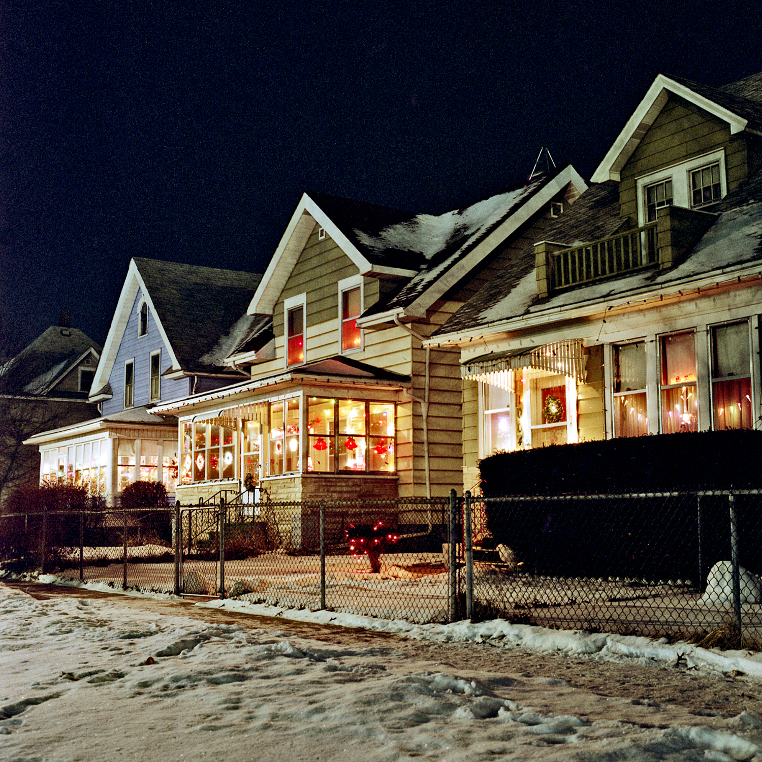 Aurora Avenue, Saint Paul, Minnesota. January 1990.