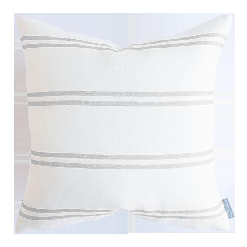 Striped Throw Pillow