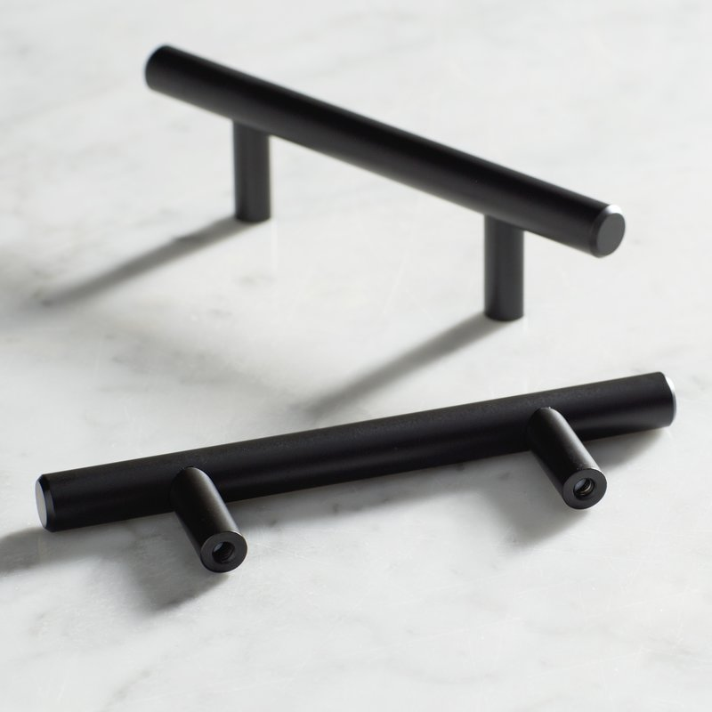 Matte Black Kitchen Hardware