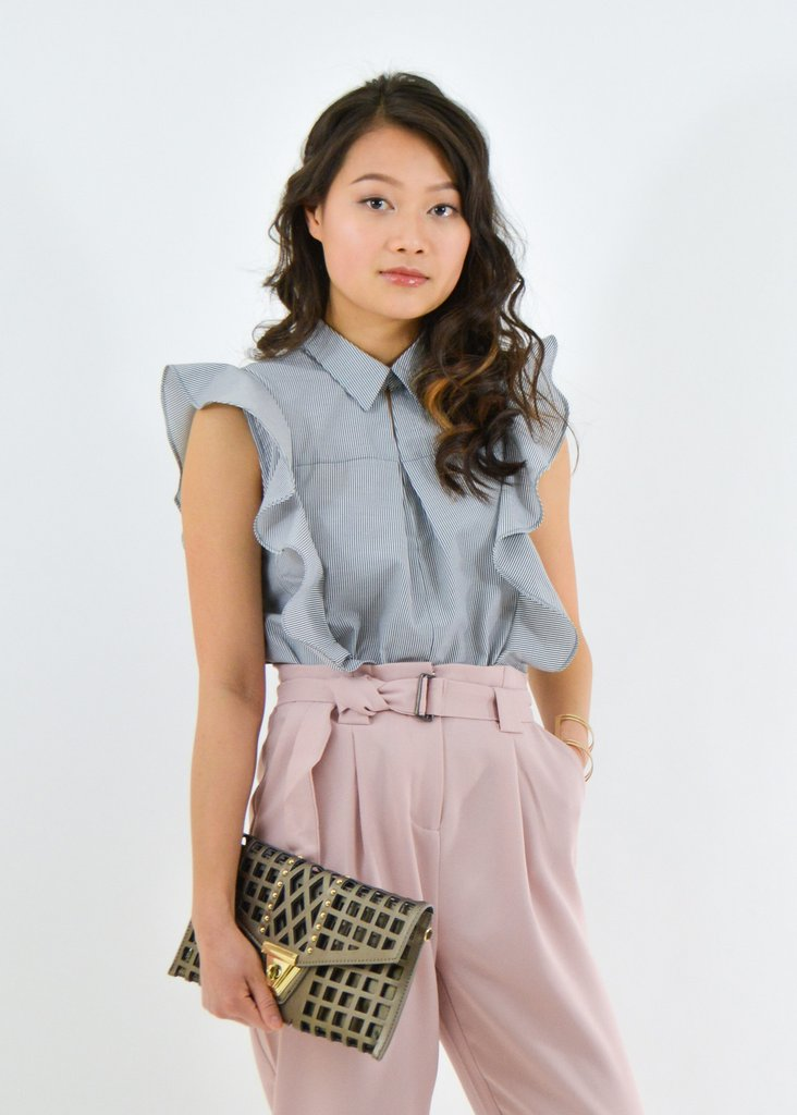 Ruffled Top,  From Anny  - $18.75