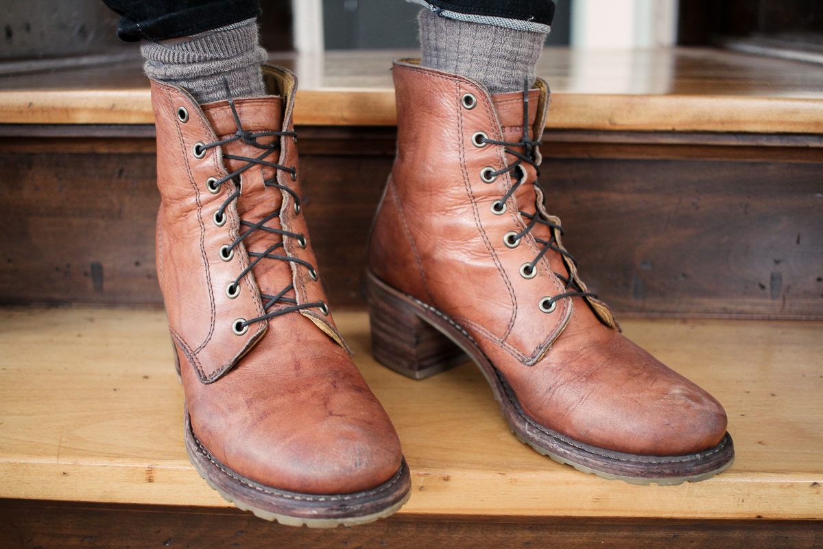 A quality pair of boots you can wear year-round and repair is a footwear essential that is both sustainable and versatile.