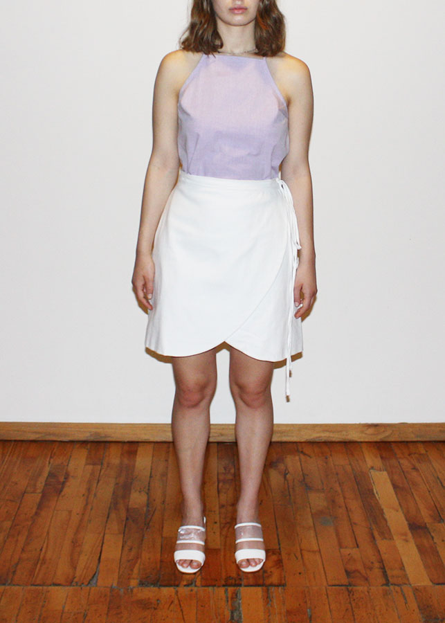 Wrap Skirt, $65   -  WAY the Label