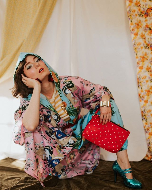 HOT MESS || Summer'19  Camera: Ivy Christina  Director: Michaela Rae  Fashions: Meghanlee Phillips  Makeup: Farah Husain  Talent: Lizzy Fenton  Publication: The Volk Magazine  _____________________________________  Get the Look: T-shirt: The Volk Boutique Jumpsuit: Coty Clothing Co. ____________________________________  #minnstagramers #highfashion #fashion #photography #photooftheday #thevolkmagazine #patternmixing #streetstyle #fashionmagazine