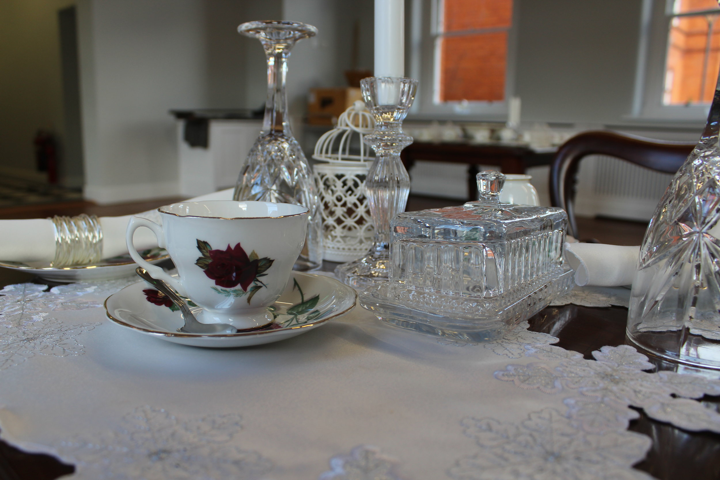 Victorian Tea Room - This is a multifunctional room that can be used for meetings and events. It can be arranged with specific beverage points and has capacity to support a range of catering needs.