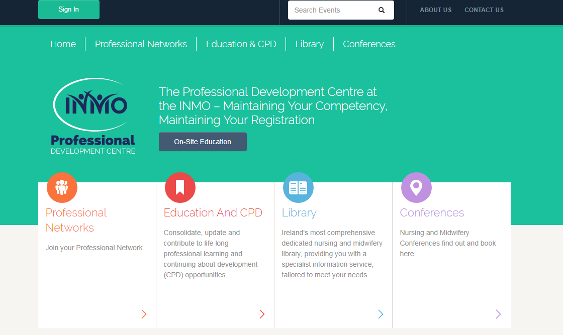 - Visit our sister site INMOProfessional to book nursing and midwifery education programmes.