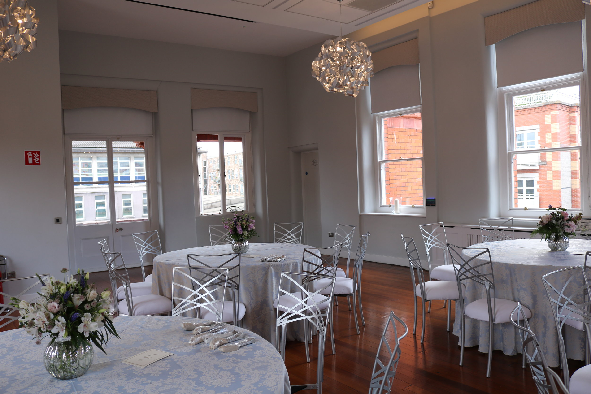 Banqueting Room - Click the button below and our dedicated team will get back to you