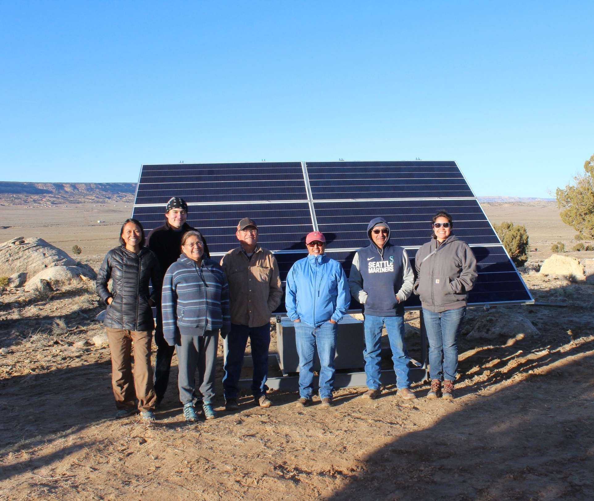About - Native Renewables formed in 2016 to catalyze clean energy for Native American homes and communities by building partnerships, seeking cost-effective solutions that will reduce fossil fuel use, supporting local economic development, and growing technical capacity.