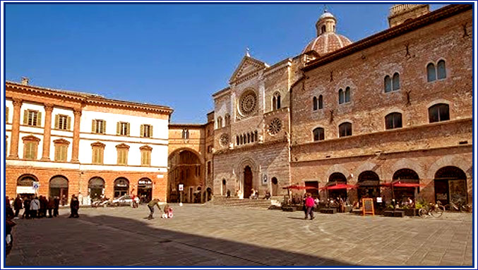 Foligno, in the Umbria region of Italy
