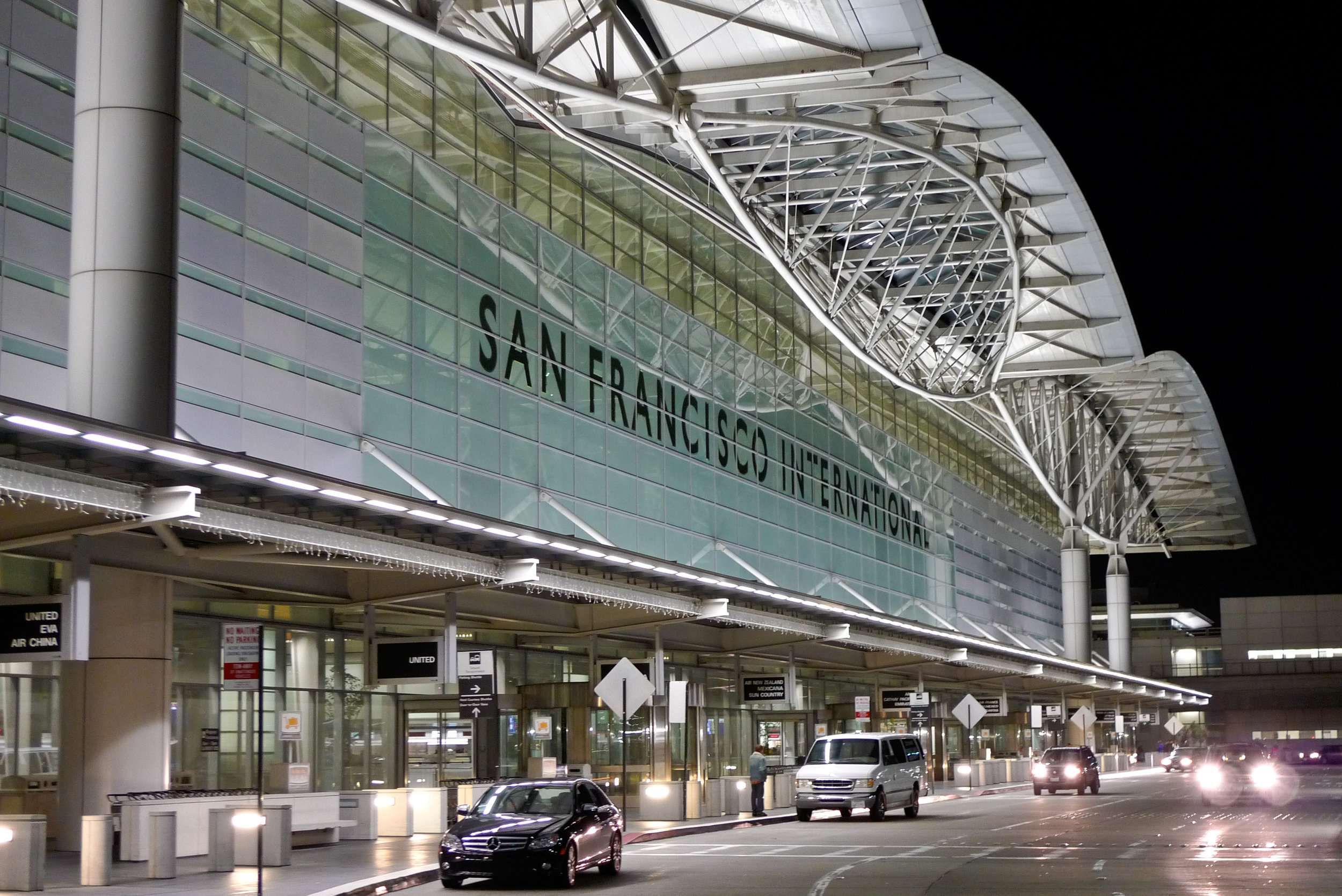 San Francisco International Airport (SFO) - 105 Miles from Sacramento