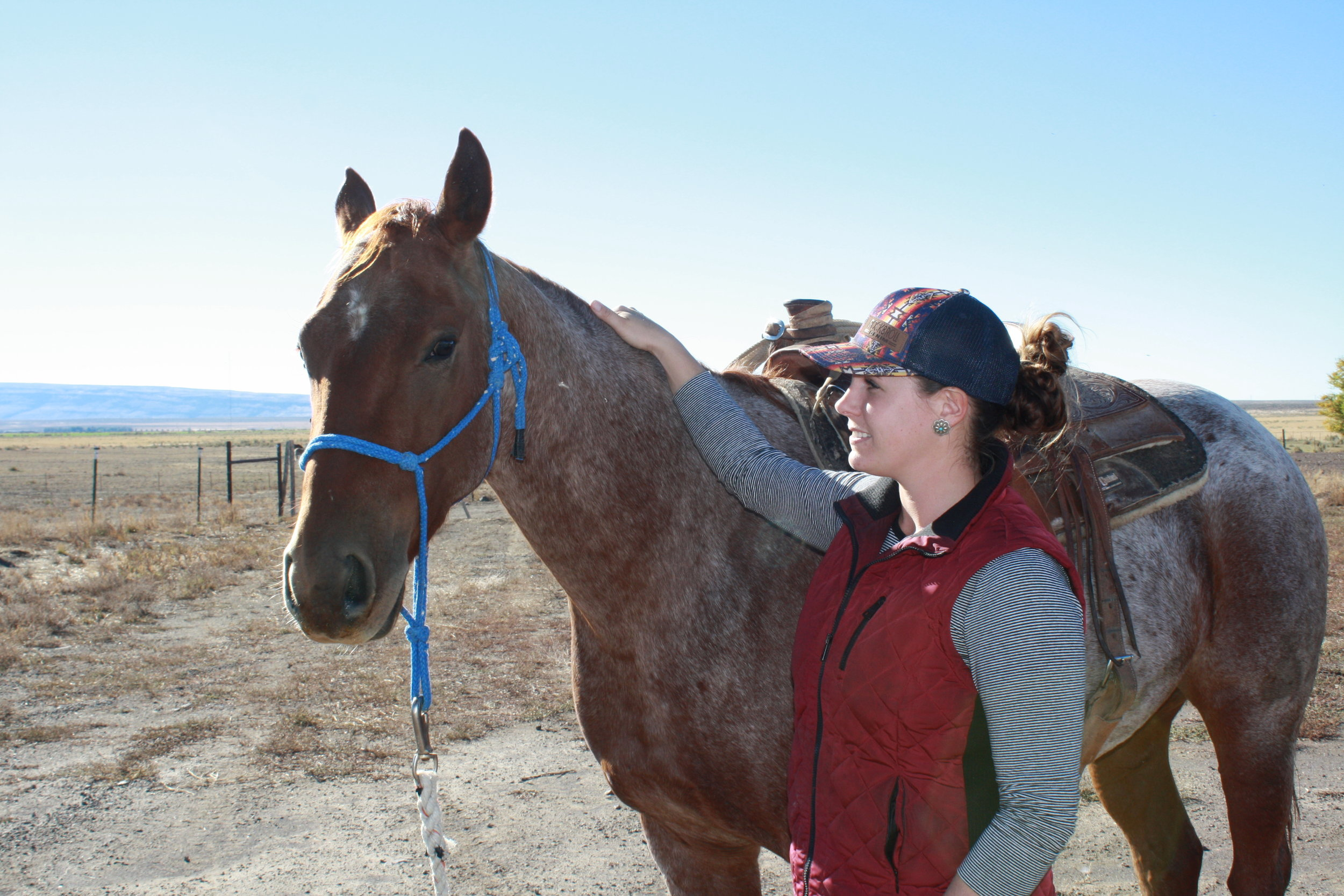 Anderson is employed as a ranch hand at the Jack Ranch near Rogerson, Idaho.