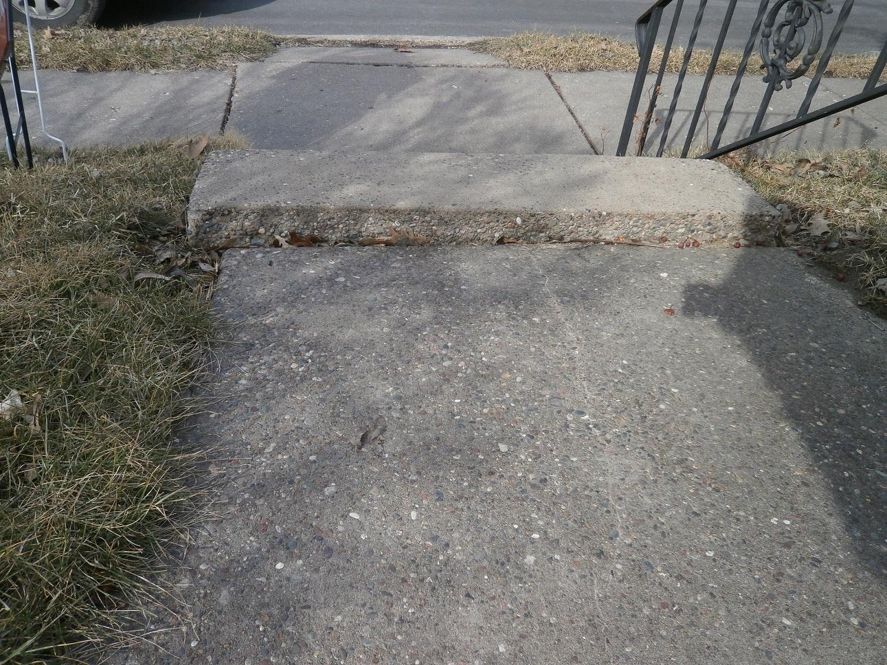 Uneven Walkways